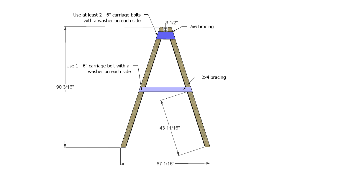 how to build a frame right angle from wall