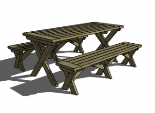 Free-DIY-Furniture-Plans-to-Build-a-PotteryBarn-Chesapeake-Picnic-Table-and-Bench.png