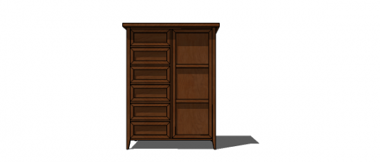Free Woodworking Plans To Build A PotteryBarn Inspired Hudson Chifforobe  Armoire   The Design Confidential