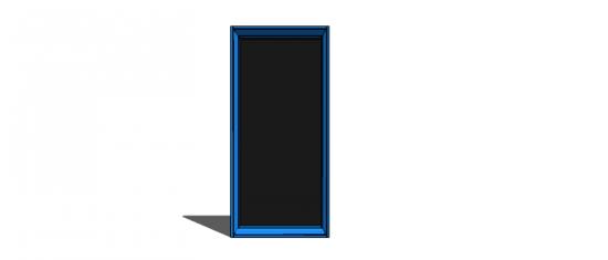 Free DIY Plans to Build a Jumbo Framed Chalkboard - The Design ...