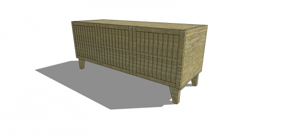 The Design Confidential Free DIY Furniture Building Plans to Build a Marin Media Console
