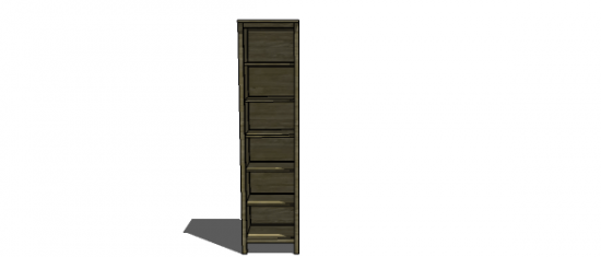 Free Woodworking Plans To Build A Single Hemnes Bookshelf The