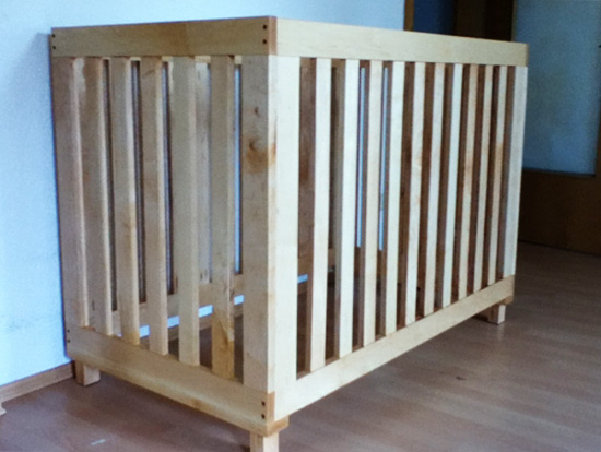 Reader Showcase // Land of Nod Inspired Low Rise Crib