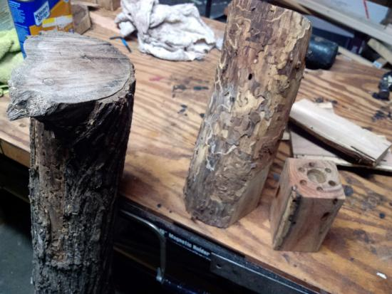 Reader Showcase: Jakes Old Log to Pencil Holder