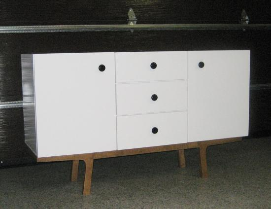 The Design Confidential Reader Showcase: Finished and Fancy Dumont Buffet