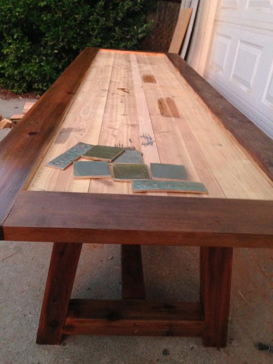 Attirant The Design Confidential Reader Showcase: Tile Top Provence Dining Table