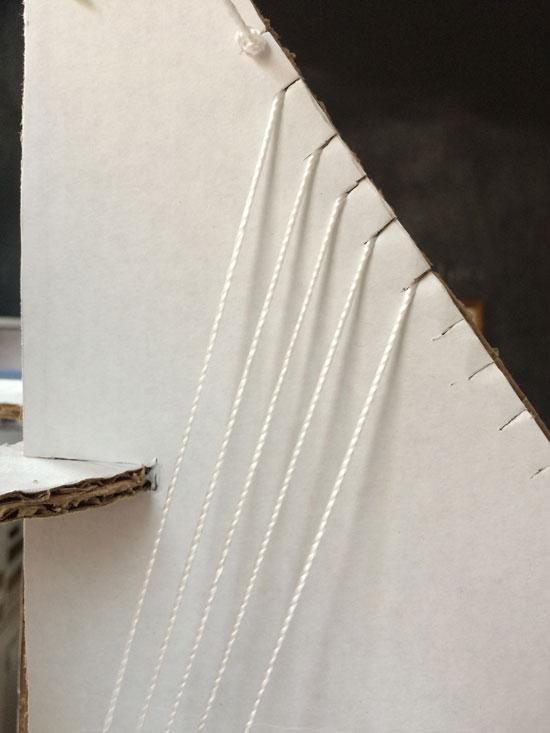 The Design Confidential DIY // String Pendant Light Fixture