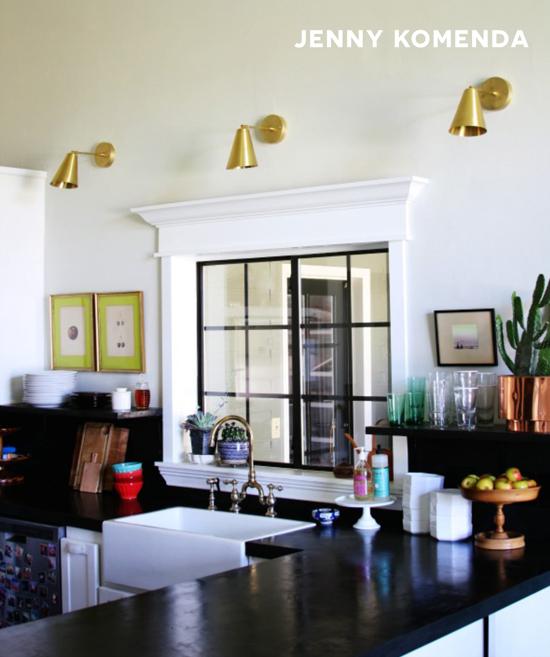 Jenny Komendas Kitchen Featured on The Design Confidential