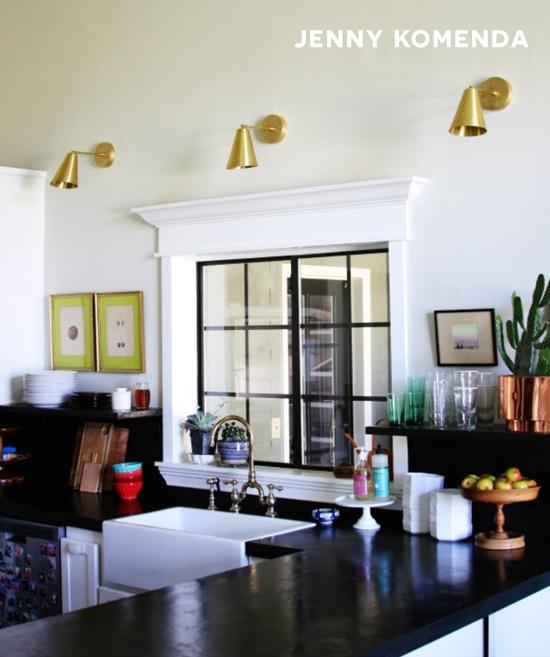 Jenny Komendas Kitchen Featured on The Design Confidential