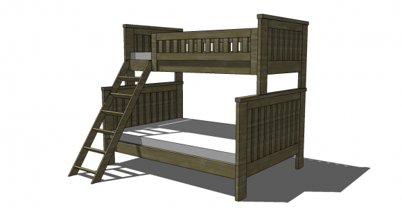 Image Result For Bed Built Over Stair Box: Free Woodworking Plans To Build An RH Inspired Kenwood