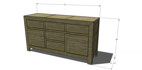 You Can Build This! Easy DIY Plans from The Design Confidential Free DIY Furniture Plans // How to Build A Large Dawson Desk via @thedesconf