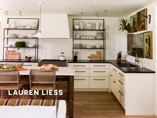 Lauren Liess Kitchen Featured on The Design Confidential