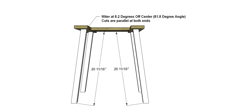 You Can Build This! Easy DIY Furniture Plans from The Design Confidential with Complete Instructions on How to Build a Crosby Outdoor End Table via @thedesconf
