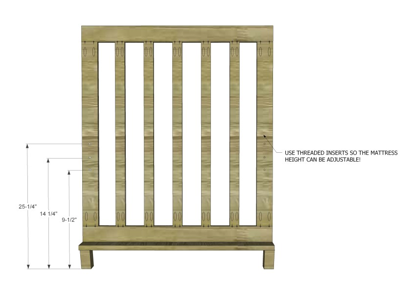 You Can Build This! The Design Confidential Free DIY Furniture Plans to Build a Low Rise Crib