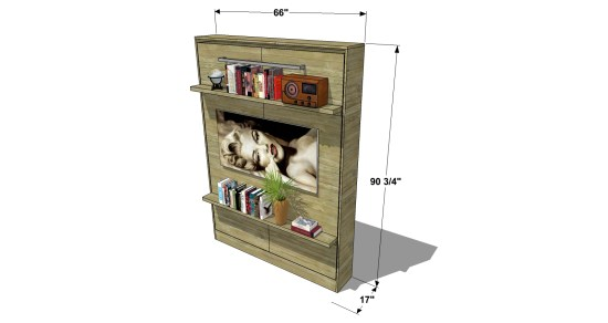 Free diy furniture plans how to build a queen sized murphy bed 325 375 solutioingenieria Gallery
