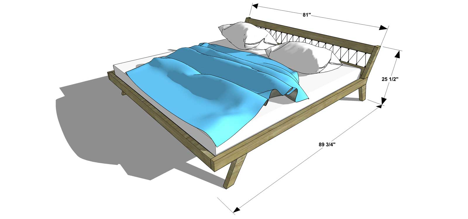 New The Design Confidential Free DIY Furniture Plans How to Build a King Sized Mellow Bed