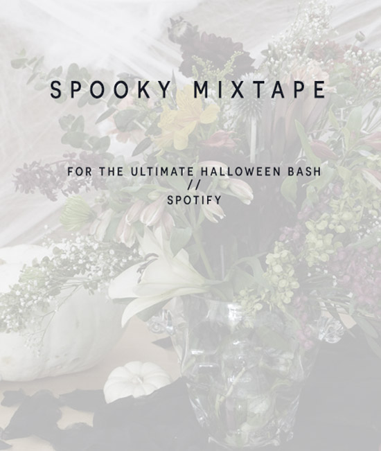 The Design Confidential's Halloween From Day to Night // Fright and Delight + Spooky Mixtape