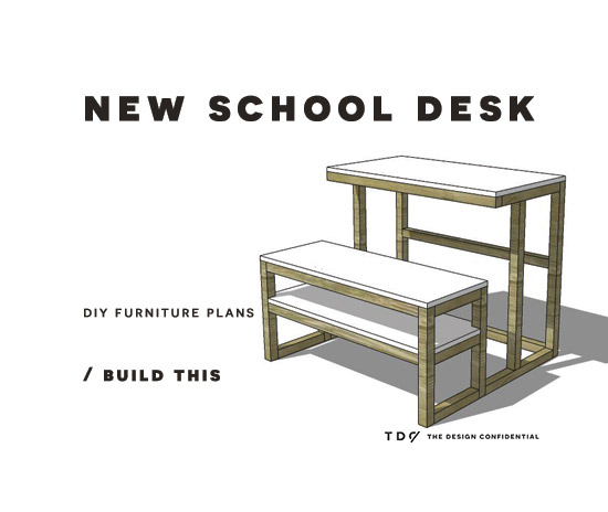 easy diy plans from the design confidential free diy furniture plans - Easy Homemade Furniture Plans