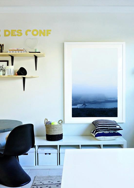 The Design Confidential DIY // Easy Live Edge Shelves + Finishing Technique