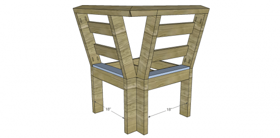 You Can Build This! The Design Confidential Free DIY Furniture Plans to Build an Outdoor Corner Unit for a Sectional Seating