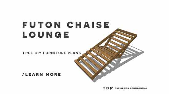 Free diy furniture plans how to build an indoor outdoor for Build your own chaise lounge