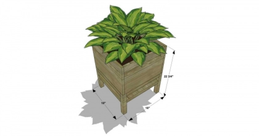 You Can Build This! Easy Outdoor DIY Plans from The Design Confidential Free DIY Furniture Plans // How to Build A Raised Cube Planter via @thedesconf