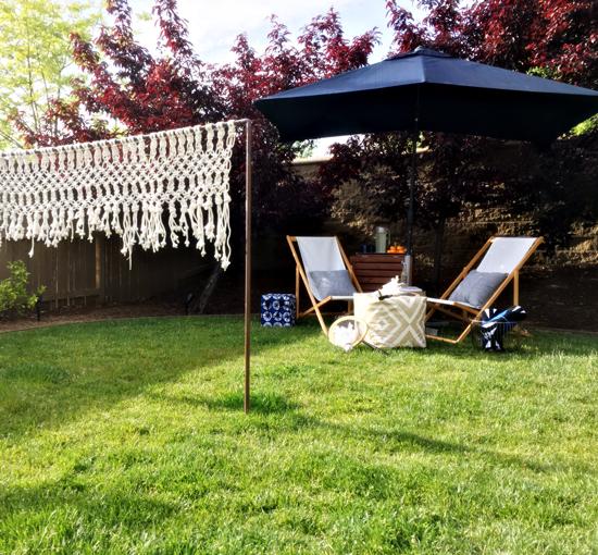 Vintage The Design Confidentials Easy Life Hacks for the Impromptu Mom Date with TargetStyle x Garden Stool Rectangular Patio Umbrella