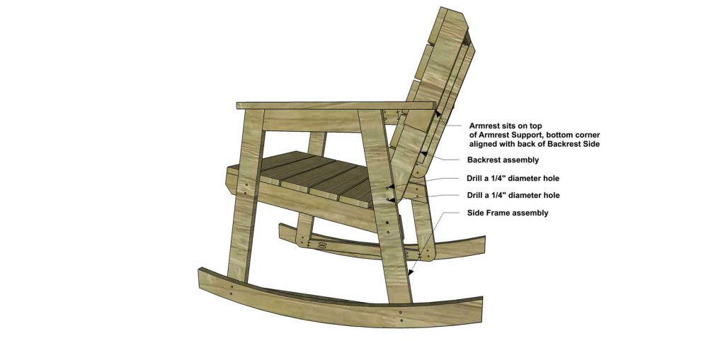 Free Diy Furniture Plans How To Build A Rocking Chair