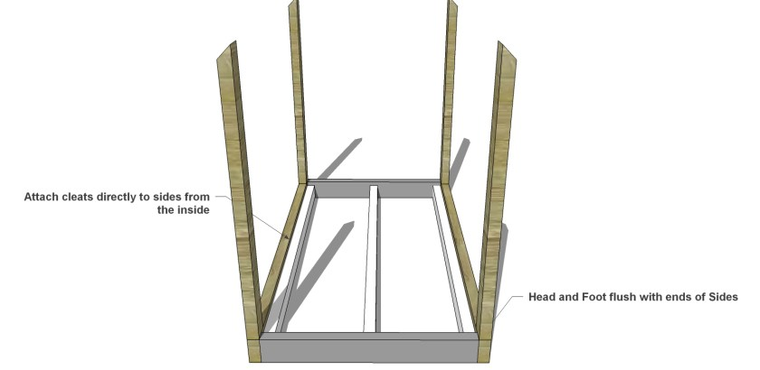 You Can Build This! The Design Confidential DIY Furniture Plans // How to Build a Twin House Bed with Platform + Chimney