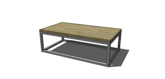 Free DIY Furniture Plans to Build a Copenhagen Coffee Table