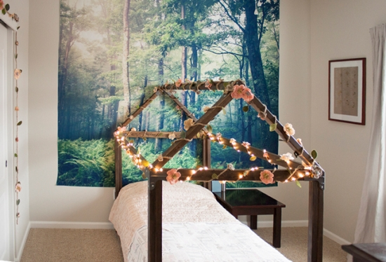 TDC Builders Showcase Pitter Patterned House Bed