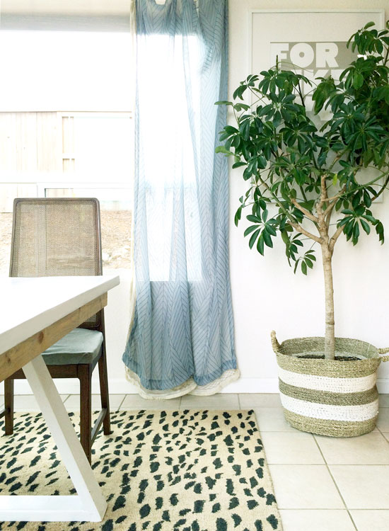 Kitchen Nook Curtains for The Design Confidential Easy Inexpensive 5 Minute DIY Fabric Trim