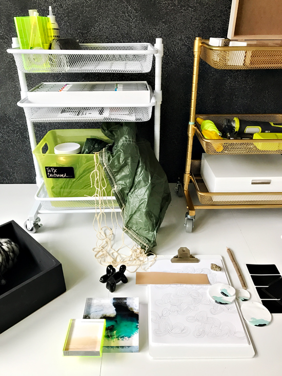 The Design Confidential x Michaels Makers / DIY Project Command Center