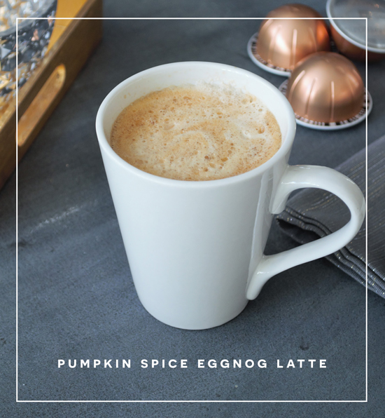 The Design Confidential Home for Holidays // Easy Pumpkin Spice Eggnog Latte Recipe