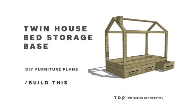 Diy Furniture Plans How To Build A Storage Base For The Twin