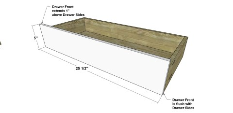 You Can Build This! Free DIY furniture Plans // How to Build a Vodder Chest of Drawers