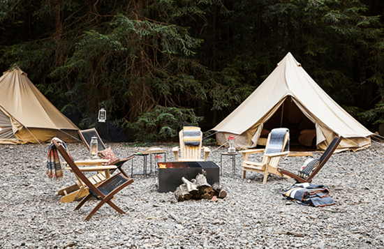 Sitting Around the Campfire for One Last Hurrah + a Fall Favorite // The Art of Glamping