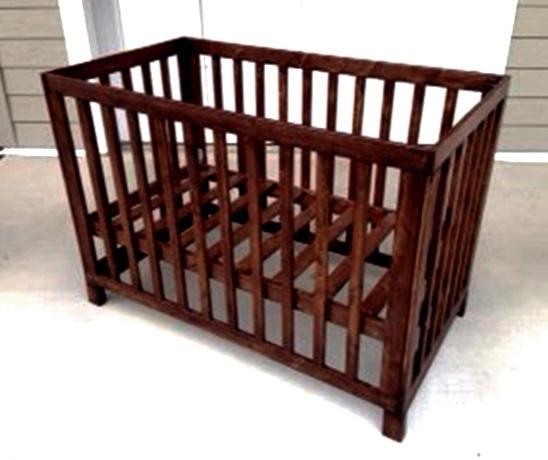 The Design Confidential Reader Showcase: Michaels Low Rise Crib