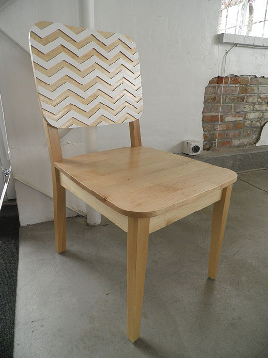Real Reader Build on The Design Confidential from Free DIY Furniture Plans to Build The Kase Chair