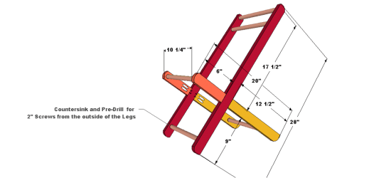 You Can Build This! Easy DIY Furniture Plans from The Design Confidential with Complete Instructions on How to Build a Wooden Doll Stroller via @thedesconf