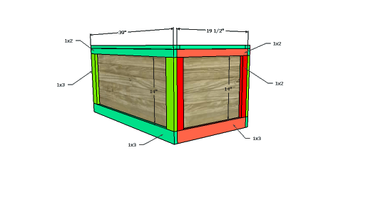 You Can Build This! Easy DIY Furniture Plans from The Design Confidential with Complete Instructions on How to Build an Oversized Bailey Storage Cube via @thedesconf