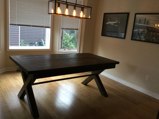 Fancy Builders Showcase Toscana Dining Room Table