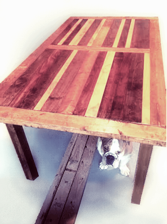 Reader Showcase: Chris' Boulangerie Table