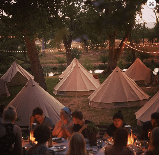 Outdoor Tents for One Last Hurrah + a Fall Favorite // The Art of Glamping
