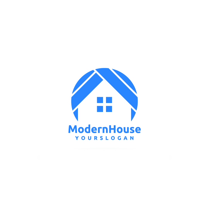15 Free Vector House Logos For Start Ups