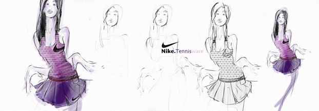 4 Simple steps From sketching to Photoshop rendering