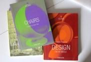 Taschen design books - Chairs and Design