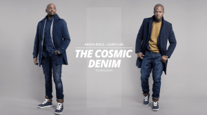 Arsen Rock sneaker designer the original cosmic denim with Ulrich AK