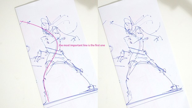 How I draw better product design - sketching dancers |TIP80
