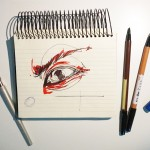 Keep in mind to draw an eye as a sphere |TIP74